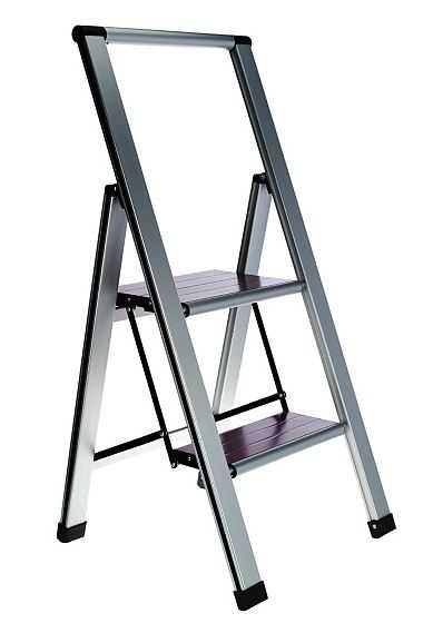 Ultimate Innovations Light Weight Folding 2 Step Ladder