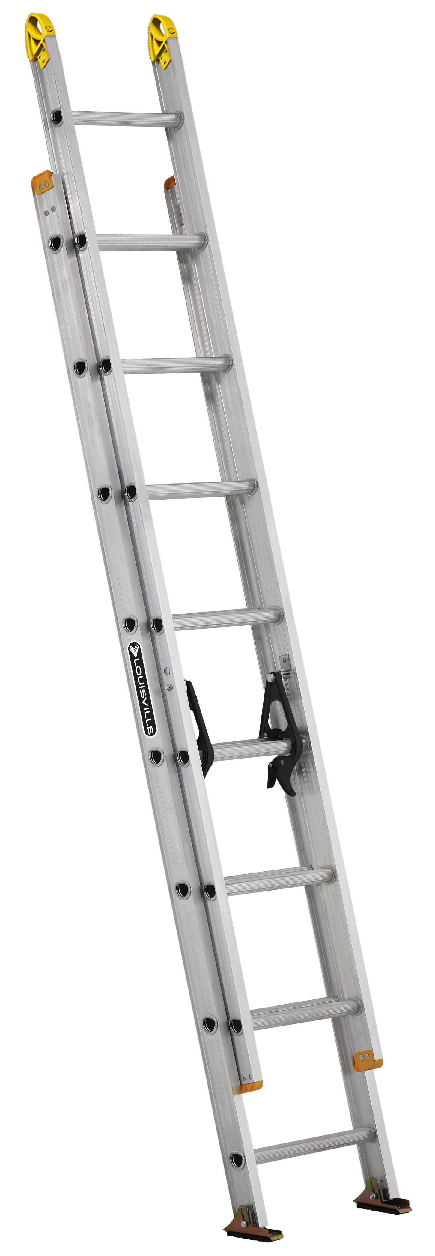 Louisville Ladder AE3216 16 ft. Aluminum Extension Ladder, Type I, 250 Lbs Load Capacity