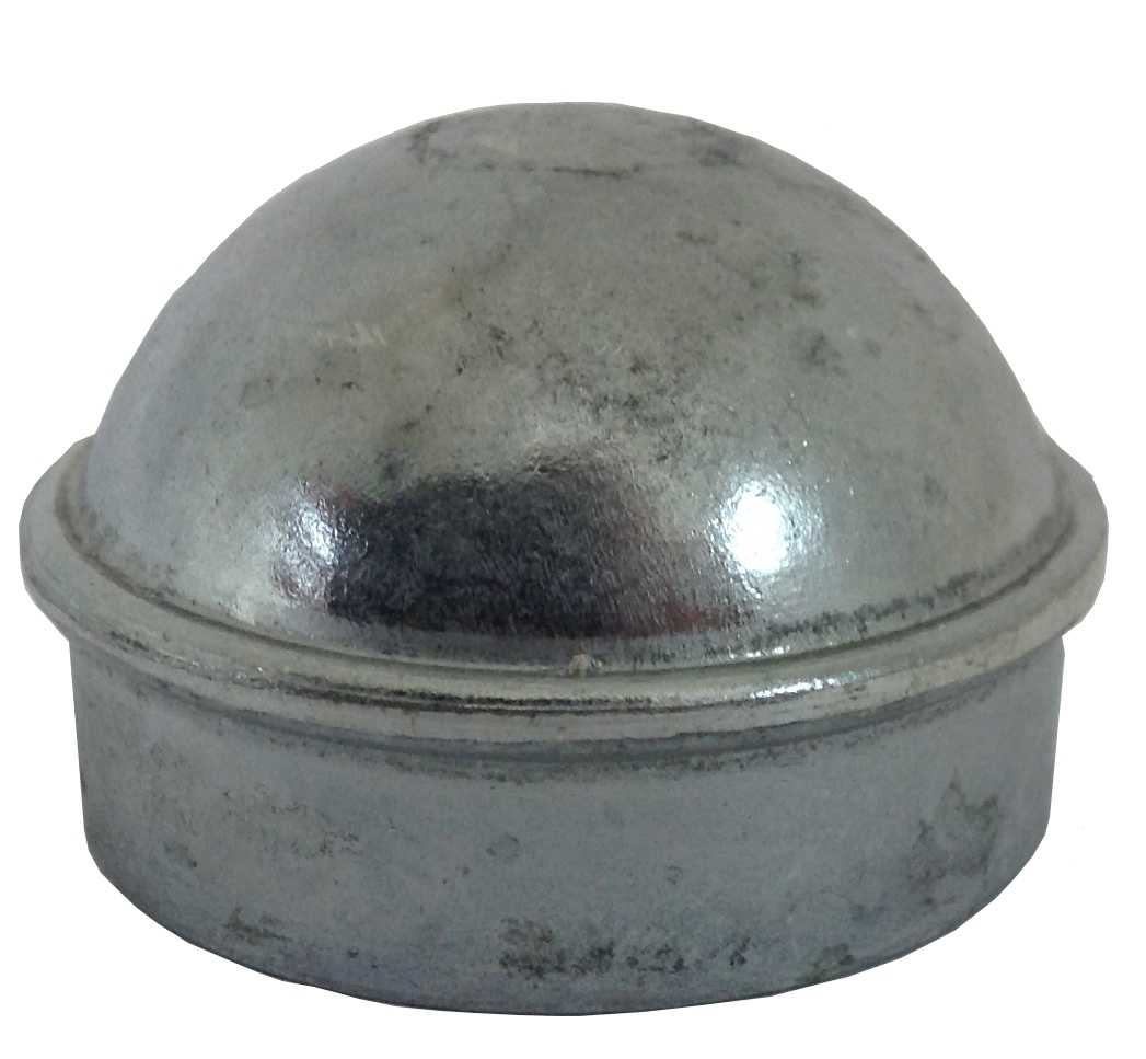 2-7/8' Chain Link Fence Post Cap - Use for 2-7/8' Outside Diameter Post/Pipe - Aluminum Chain Link Post Cap