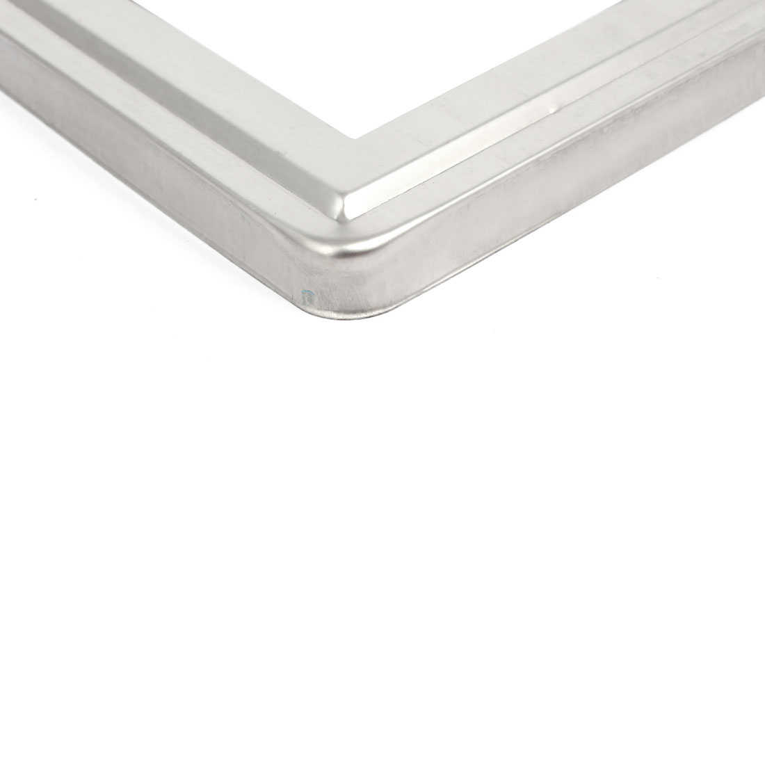 Unique Bargains Stair Handrail Hand Rail 80mmx80mm Post Base Plate Cover 304 Stainless Steel