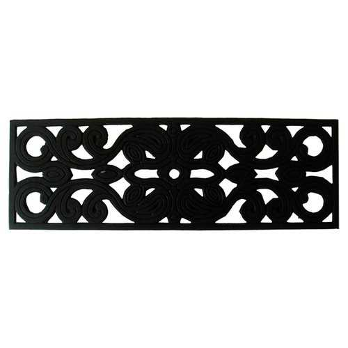 Geo Crafts, Inc Torrence Black Stair Tread (Set of 2)
