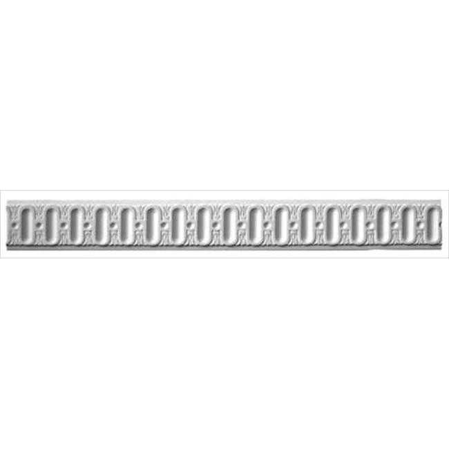 American Pro Decor 5APD10165 94.5 x 2.5 in. Fluted Panel Moulding