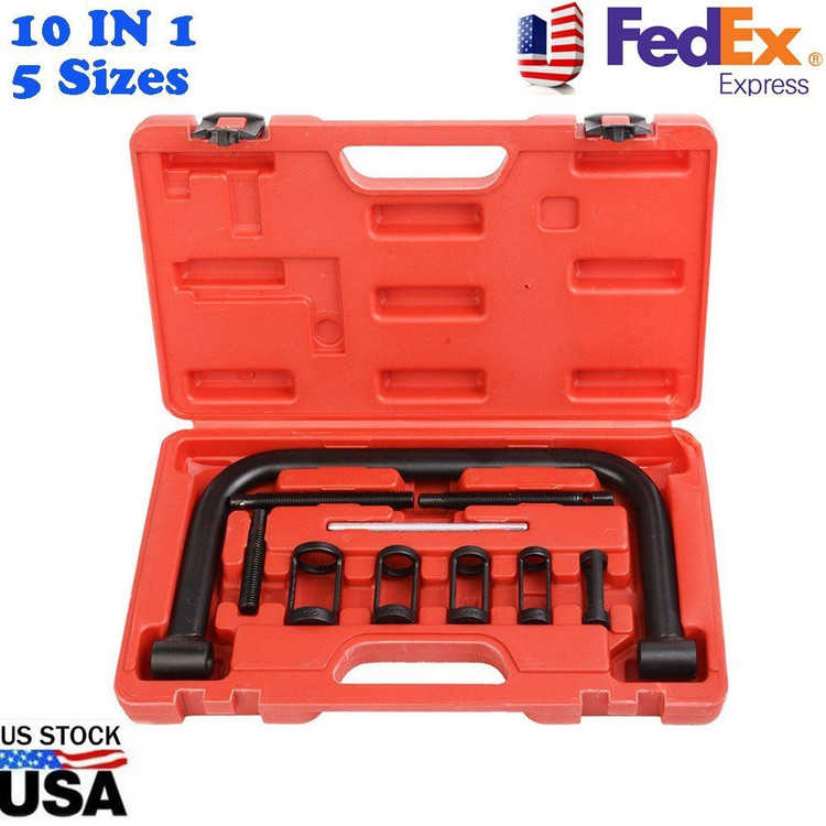 10 sets Valve Clamps Spring Compressor Automotive Tool Set Repair Tool For Car Motorcycle