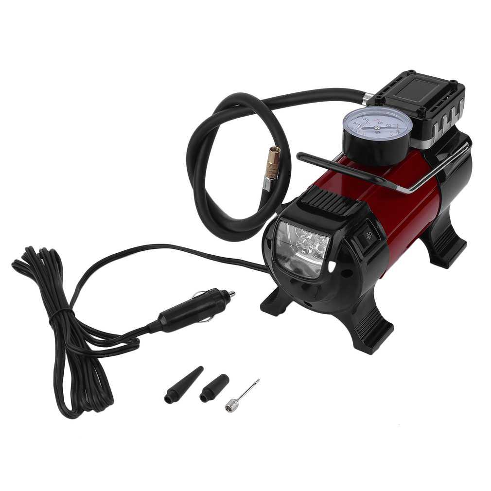 Powerful 12V JS1026 Portable Car Air Compressor Electric Tyre Inflator Pump