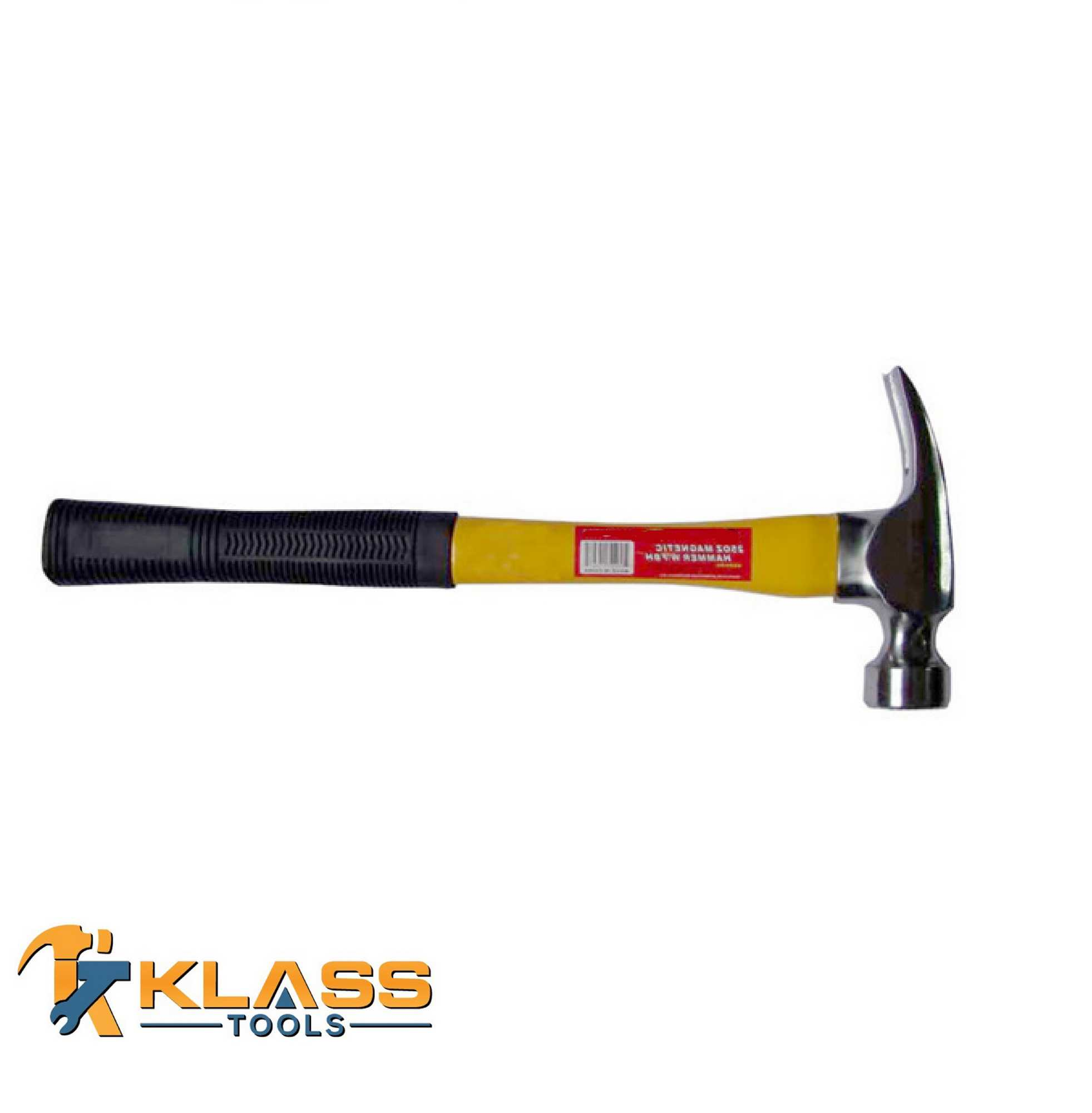 25oz Magnetic Hammer with Fiber Handle