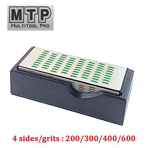 MTP 4 Sides Diamond Sharpening Hone Whetstone Stone Block Knife , Chisels, router cutter Tool Sharpener Way