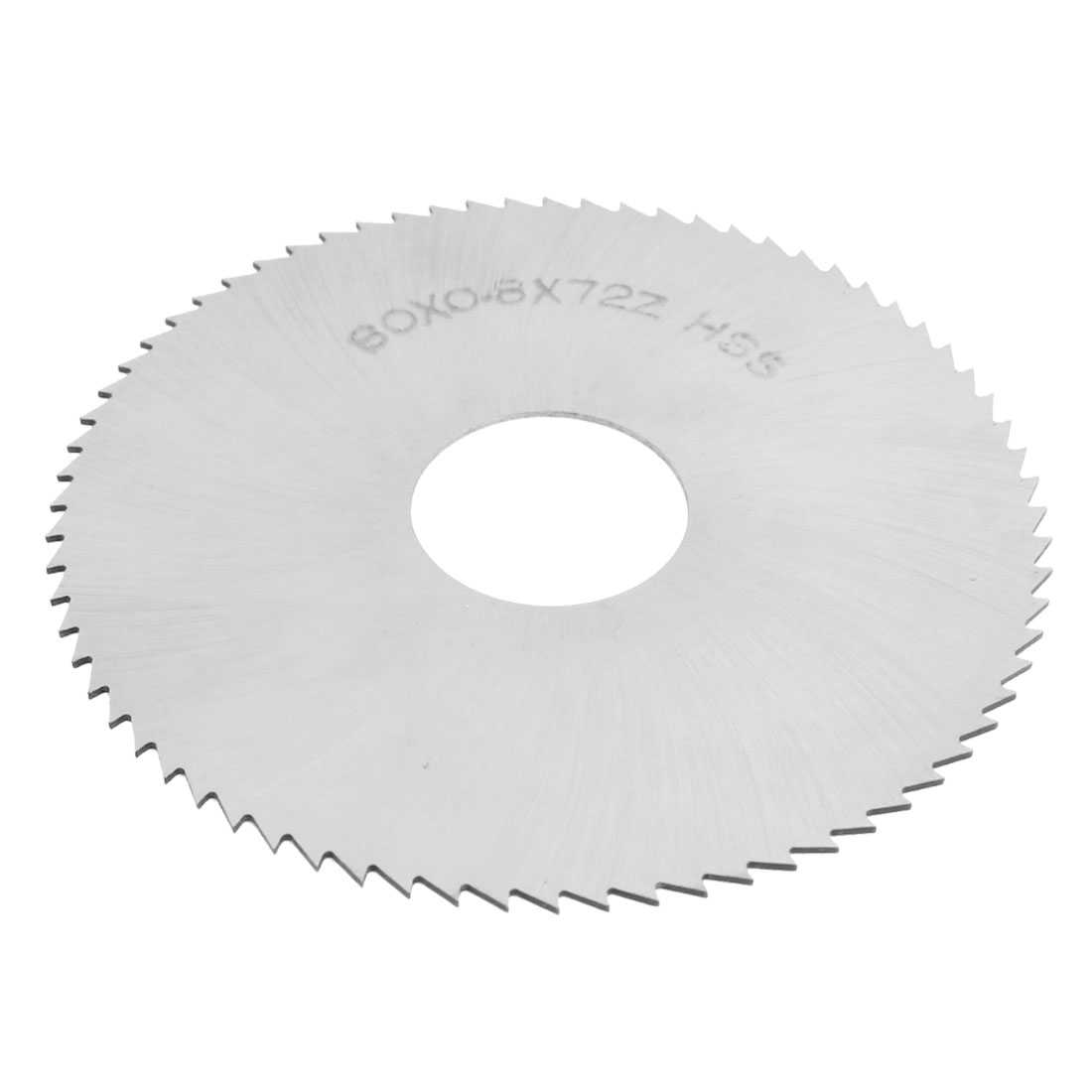 Unique Bargains Unique Bargains 80mm x 0.8mm x 22mm 72T Milling Slitting Slotting Saw Blades Mill Cutter