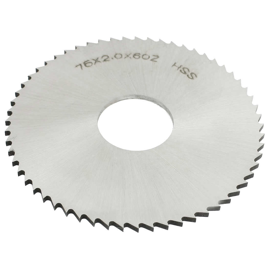 Unique Bargains 75mm x 2mm x 22mm 60T Slitting Slotting Saw Milling Cutter