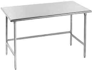 Advance Tabco Work Table 36' x 36' Wide - TGLG-363