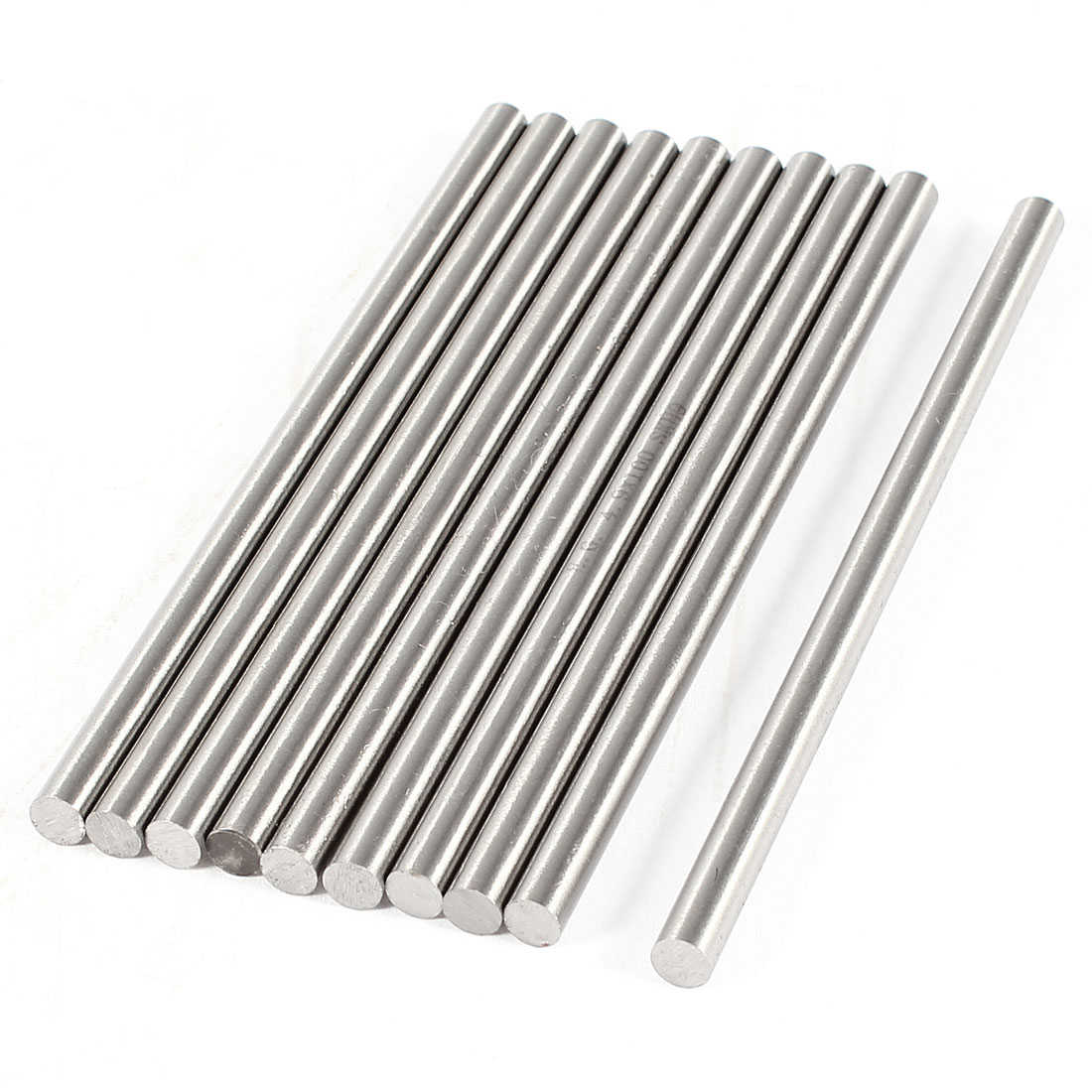 Unique Bargains 10 Pcs 4.9mm x 100mm HSS High Speed Steel Turning Bars for CNC Lathe
