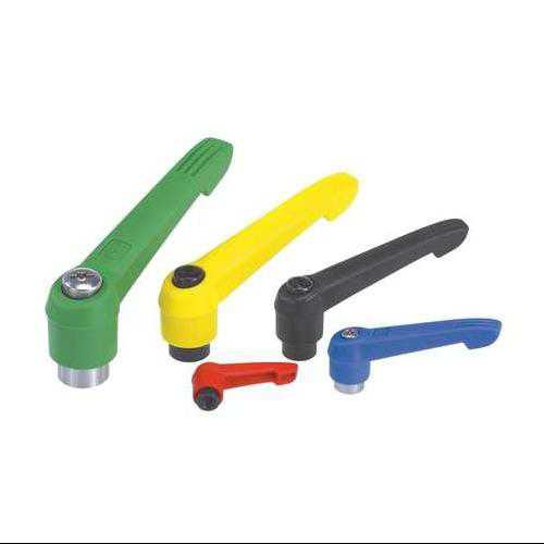 KIPP 06600-41216 Adjustable Handles,M12,Yellow