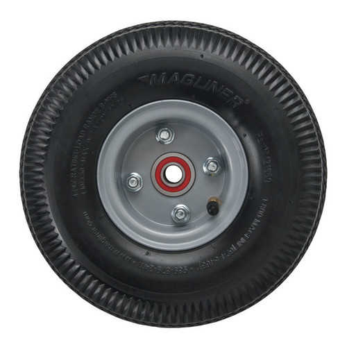 Magline, Inc. 4-Ply Pneumatic Hand Truck Wheel with Sealed Semi Precision Bearings