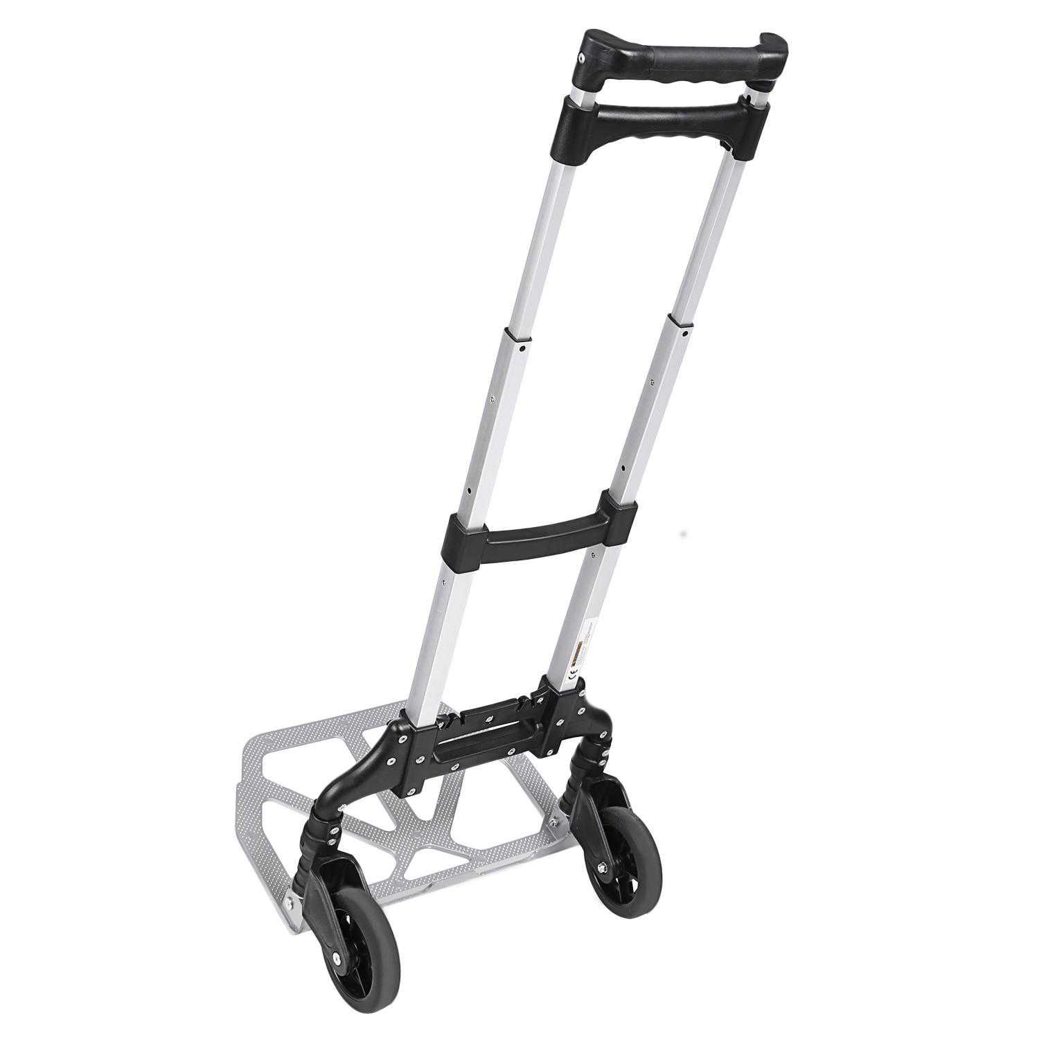 Telescoping Portable Folding Hand Truck Dolly Luggage Carts