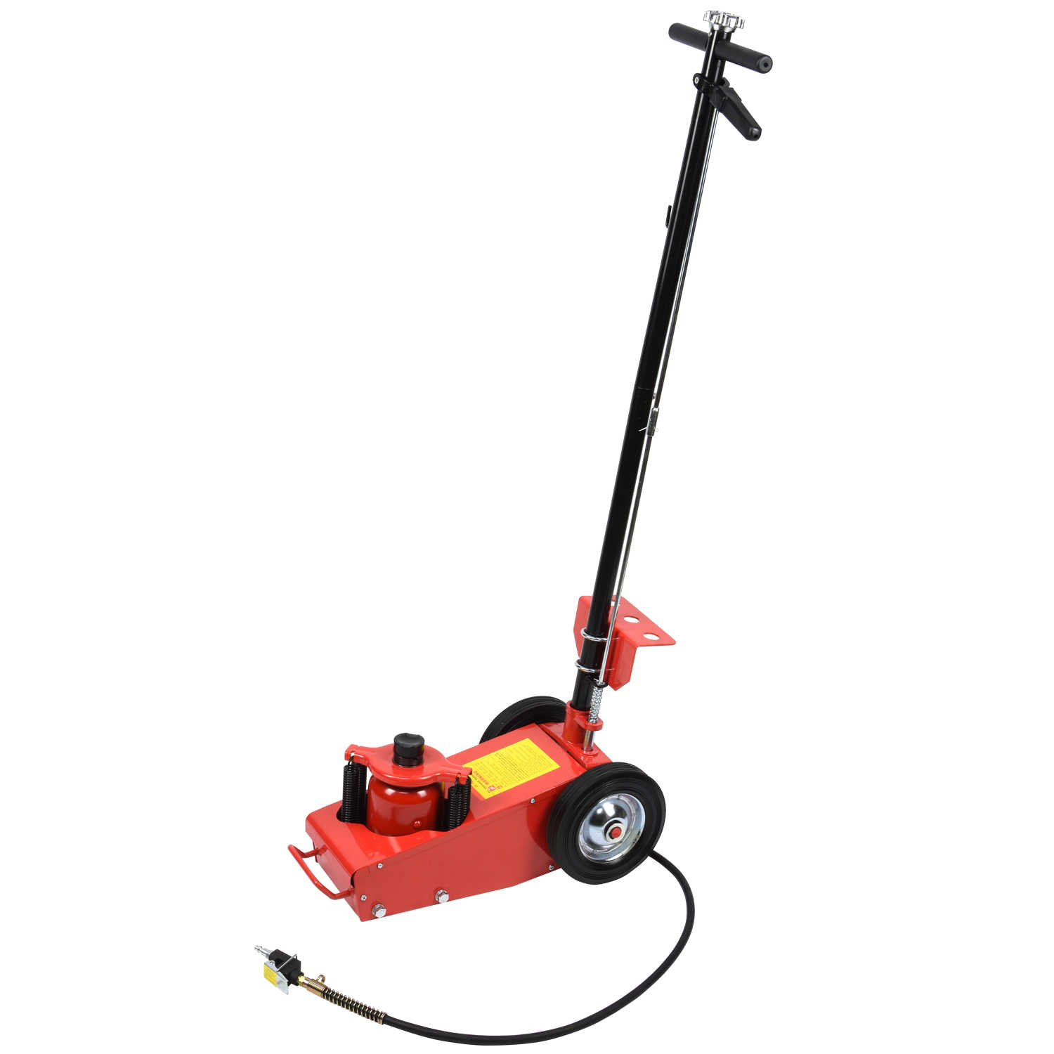Hiltex 22 Ton Air Hydraulic Floor Jack Lift w/ Wheel Auto Truck Bus Repair