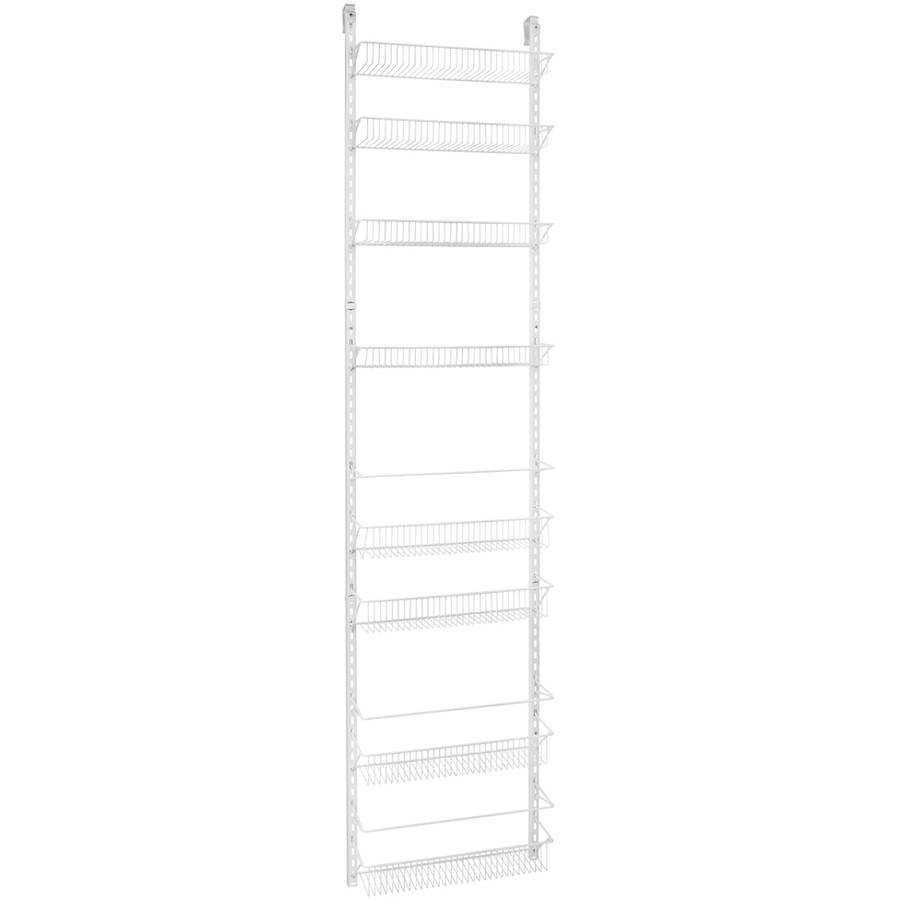 ClosetMaid 8-Tier Wall and Door Rack, White