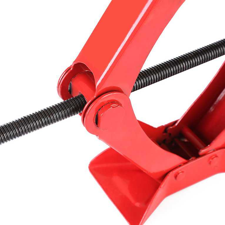 1 Ton Heavy Duty Scissor Wind Up Tyre Jack Lift For Car Garage Speed Handle On Sale On Sale
