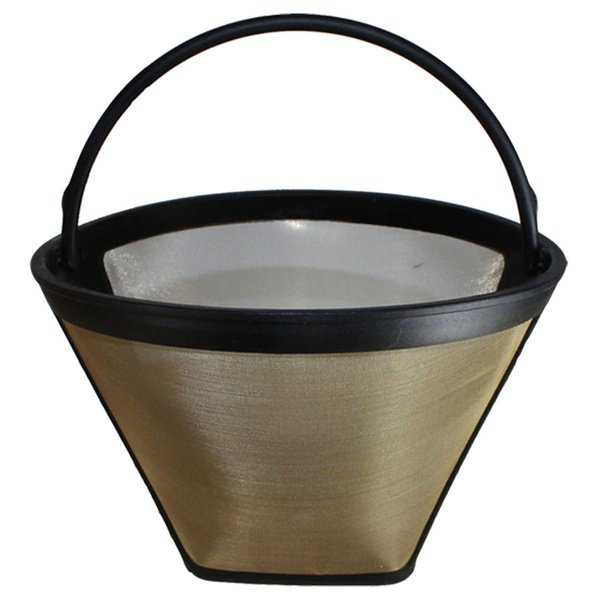 Replacement #4 Gold Tone Coffee Filter, Fits Bonavita BV1800, Washable & Reusable